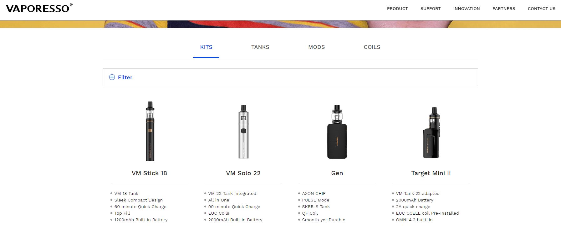 vaporesso-official-site