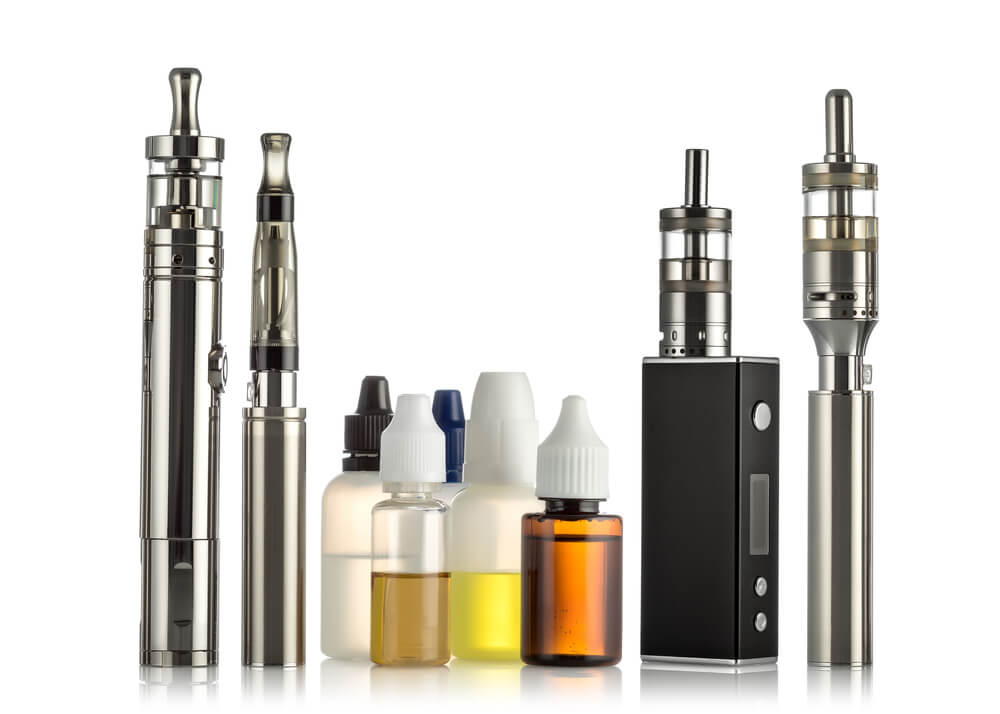 vape atomizers of different types