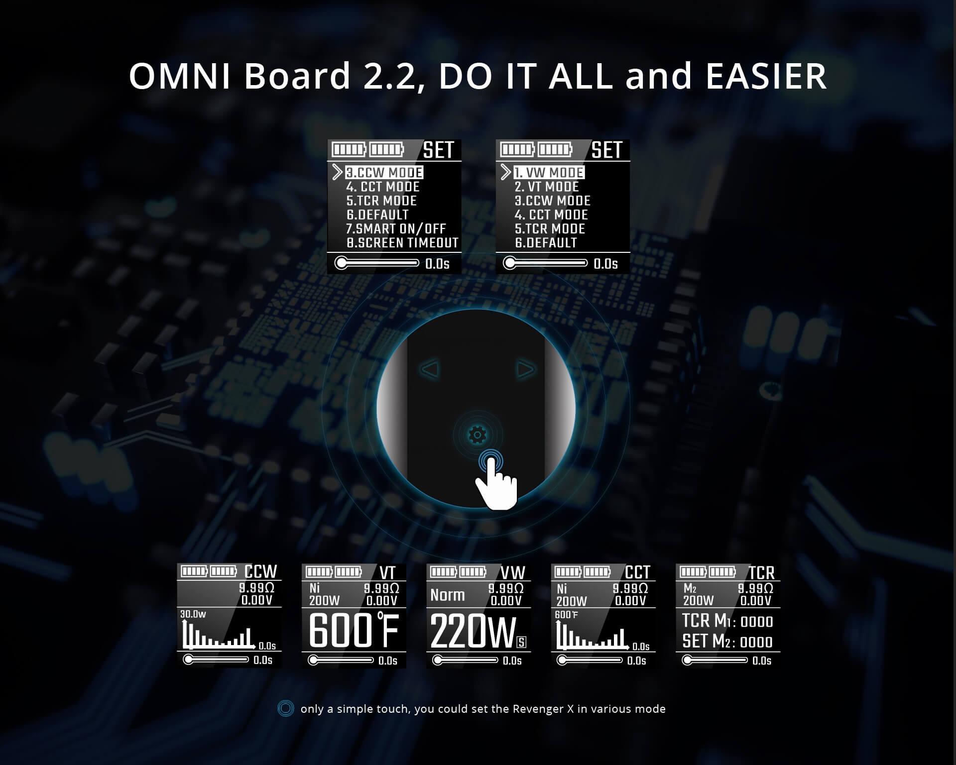 Vaporesso Omni Board 2.2