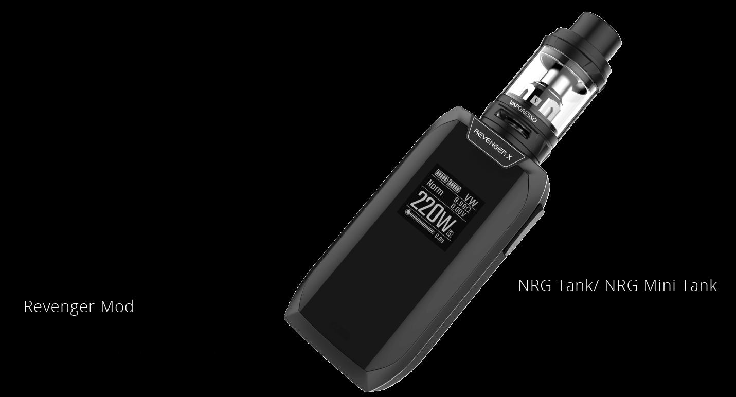 Revenger X e-sigarett kit