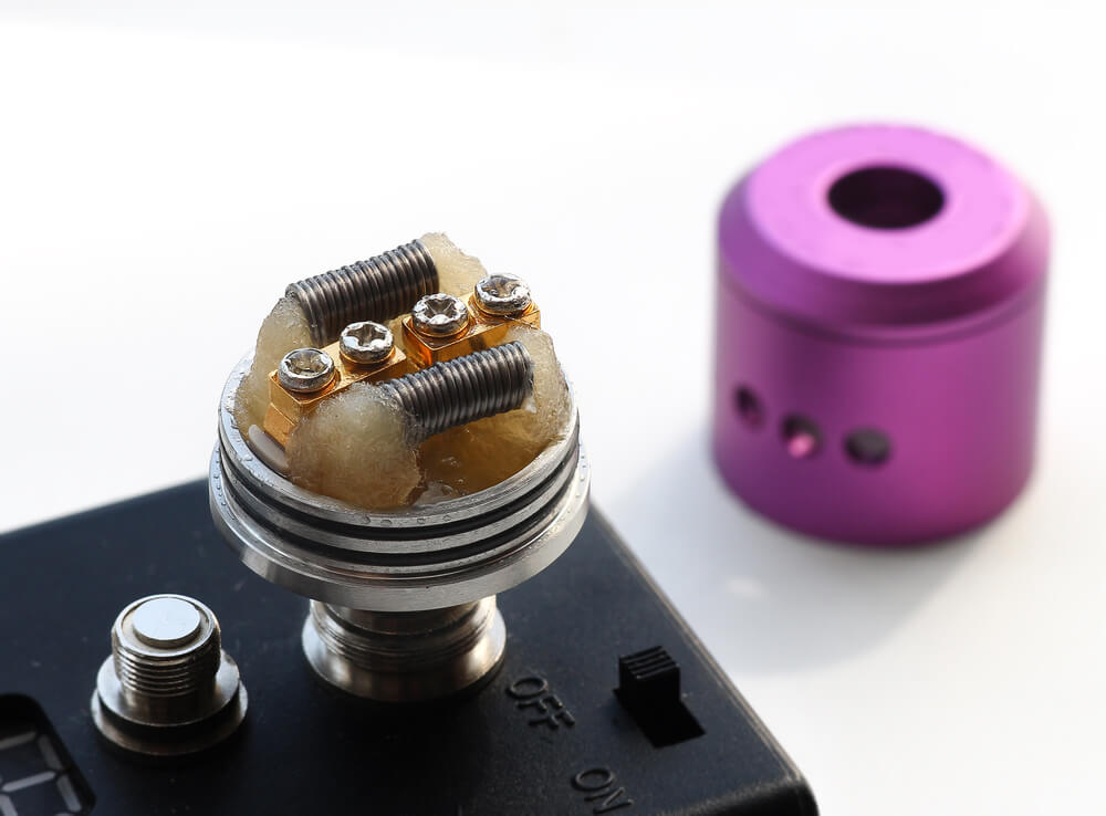 Vaping 101 RDA build