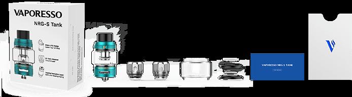 NRG S Tank   Vaporesso   Packaging