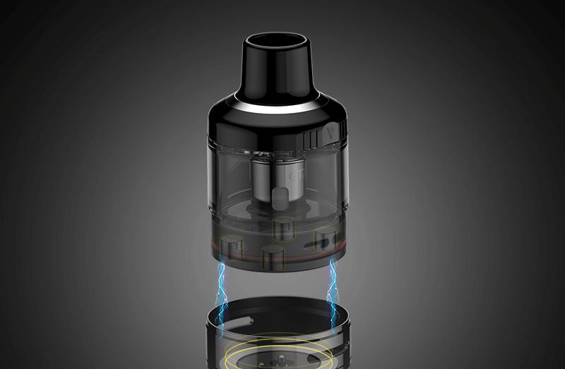 CIgusto kit GTX Go 80 Vaporesso cartouche 5 ml contenance