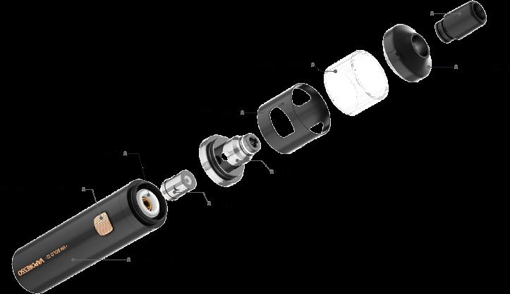 Vaporesso VM SOLO 22 Pod System Kit 2000mAh