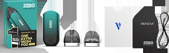 Renova ZERO POD, Best Refillable Vape Starter Kit » Vaporesso