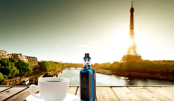 test revenger kit vaporesso france